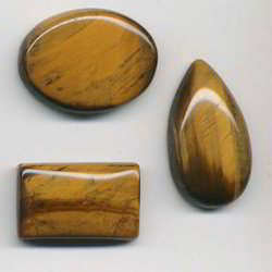Tiger Eye Cabochon Stone