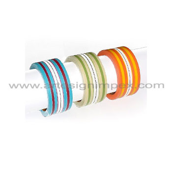 Striped Bangles