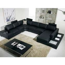 Sectional Wooden Sofa Set