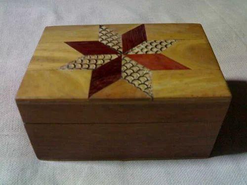 Handcrafted Wooden Box Maasha Allaha Handicrafts Exporter In