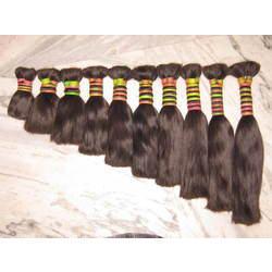 Indian Non - Remy Double Drawn Bulk Hair