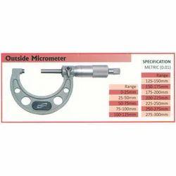 Outside Micrometer (Range 0-25mm)