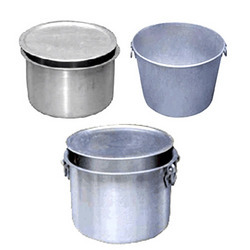Stainless Steel Aluminum Cookware, For Kitchen, Size: Various Sizes