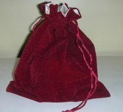 Valvet Velvet Drawstring Bags, 100-200 G