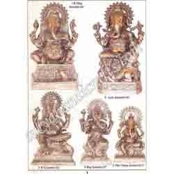 Brass Ganesh