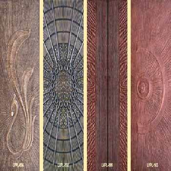 Carved Door Panels