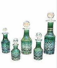 Green GB-06 Decorative Glass Bottle, Capacity: 25 Ml, Size: 90 Cm * 40 Cm