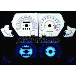 Glow in Dark Instrument Panel