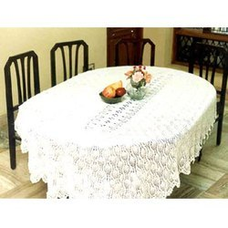 oval table cloth view u0026 details of tablecloth by vishal handicrafts meerut id