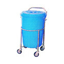 Hospital Dustbin Trolley