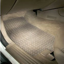 Khurana Industries White Car Transparent Floor Mats, For Automobiles, Size: Universal