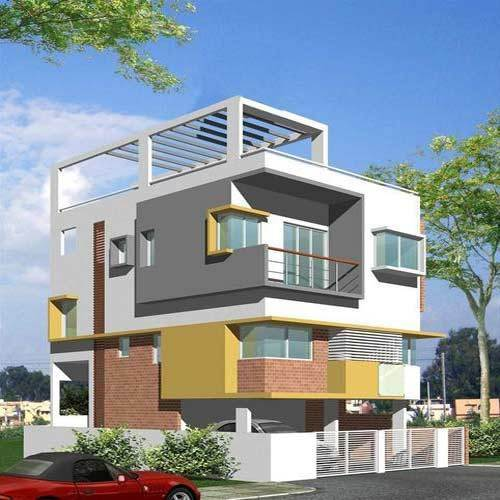 3D Building/House Designing In Ramachandra Nagar, Indore