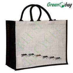 Green Bag Fancy Jute Shopping Bags