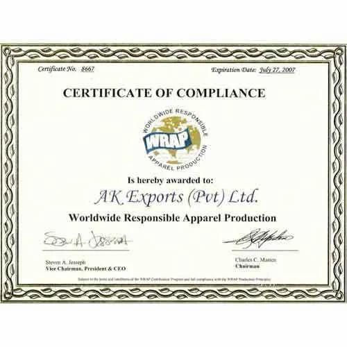 wrap certification services indiamart