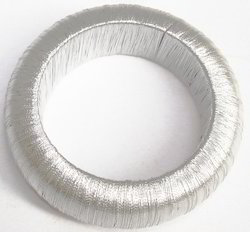 Silvered Napkin Ring
