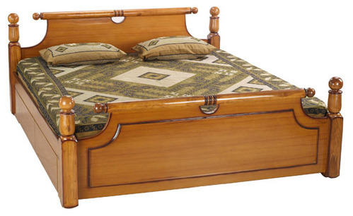 Bed Room Furniture Wooden Cot Manufacturer From Bengaluru