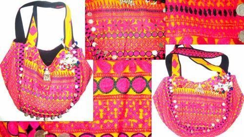 Vintage Sari Patch Hand Bags
