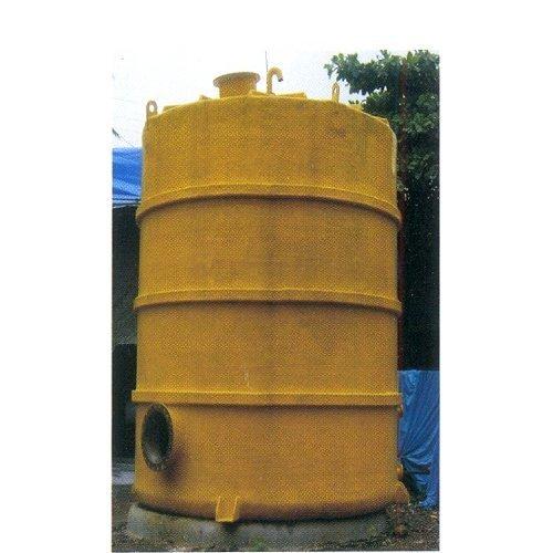 PP FRP Chemical Storage Tanks - Lining Tanks Manufacturer from Mumbai