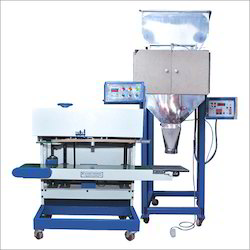 Vertical Band Sealing Machine With Linear Weigher Filler