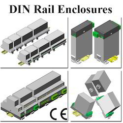 Din Rail Plastic Enclosures