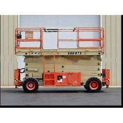 Rough Terrain Scissor Lift Rental Services