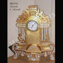 Table Marble Clock