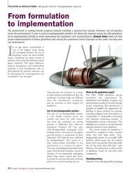 From formulation to implementation