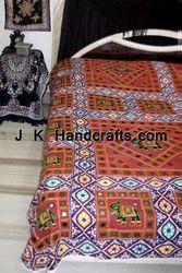 Jaipuri Reversible Hand Block Cotton Bed Sheet