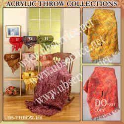Industrial Acrylic Throw