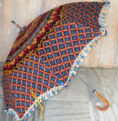 Embroidered Handmade Garden Umbrella