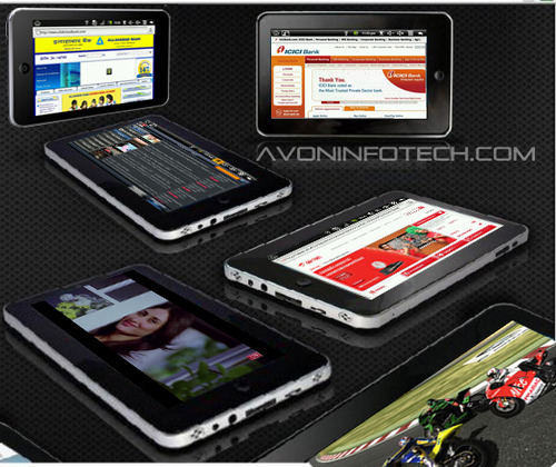 7 Inch Android 2.2 Tablet PC With 3g,WiFi