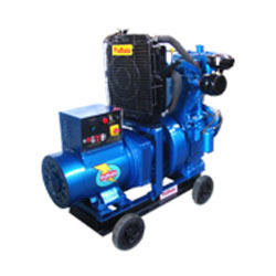 Rented Field Marshal Diesel Generators