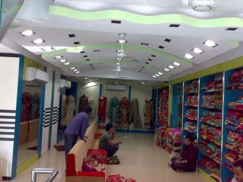 Textile Showrooms Interiors In Amberpet Hyderabad