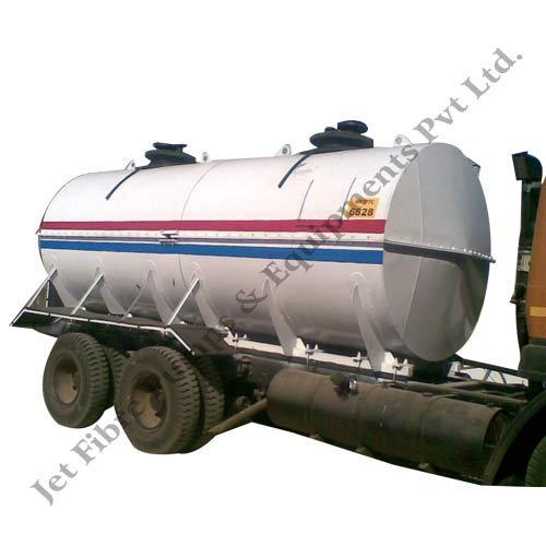 Jet Fibre Acid Transport Tank, Capacity: 5000-10000 L