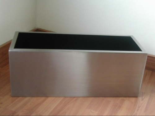 Ss Rectangular Planters View Specifications Details Of Stainless