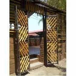 Garden Entrance Bamboo Gates