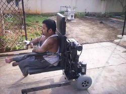 Ground Level Motorized Wheel Chair