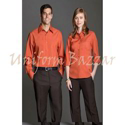 Black and Orange Uniform- Corporate U-5