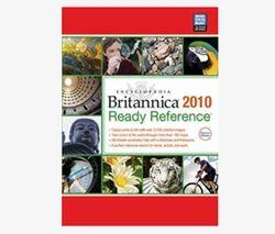Encyclopedia Britannica 2010 Ready Reference CD - Encyclopaedia ...