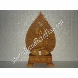 Wooden Buddha With Patti