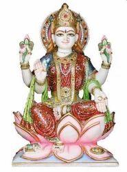 LA-1012 Goddess Laxmi Statue In Marble