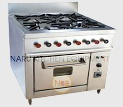 6 Burner Cooking Range
