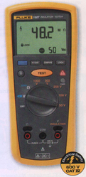 Fluke 1507 and 1503 Insulation Testers