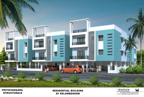 Multi Storied Residential Apartments Construction Services