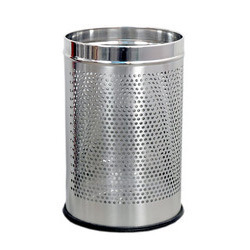 Perforated Round Hole Bin