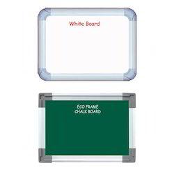 Non Magnetic White & Chalk Board