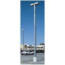 Square Pipe Lighting Pole