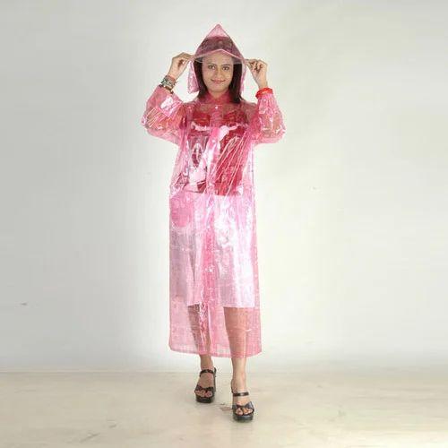562db0b97 Ladies Plastic Raincoat - View Specifications & Details of Plastic ...