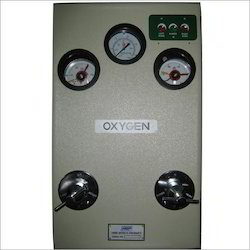 Oxygen Dioxide and Nitrous Oxide Control Panel