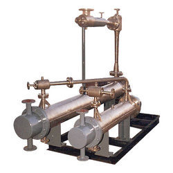 MS,SS Steam Jet Ejector Surface Condenser, For Industrial